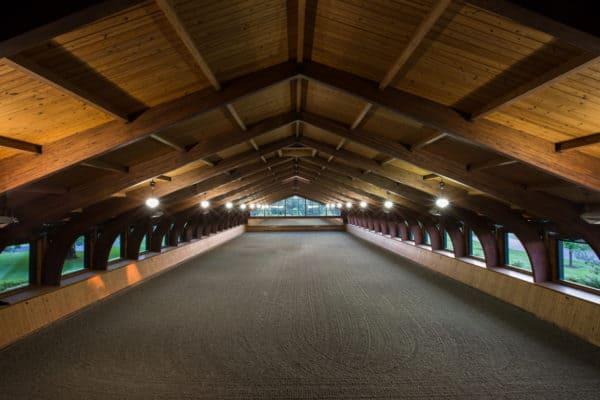 Indoor Horse Arena Construction