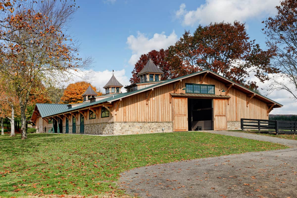 horse barn maintenance