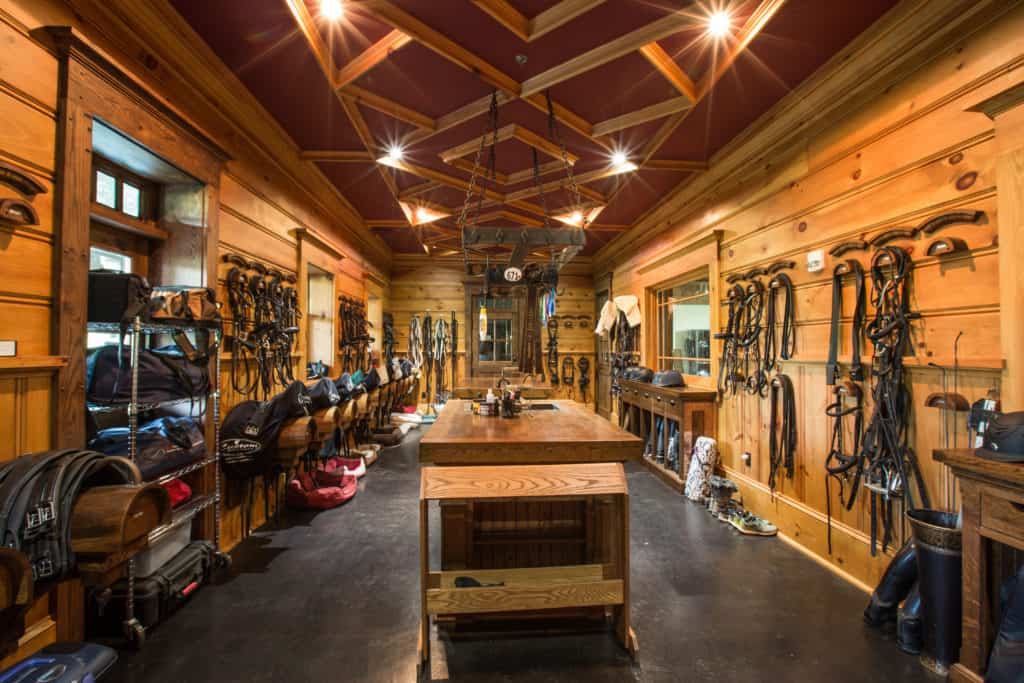 Tack Room Organization Tips Custom Horse Barn B D Builders